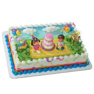 Dora Explorer Birthday Celebration